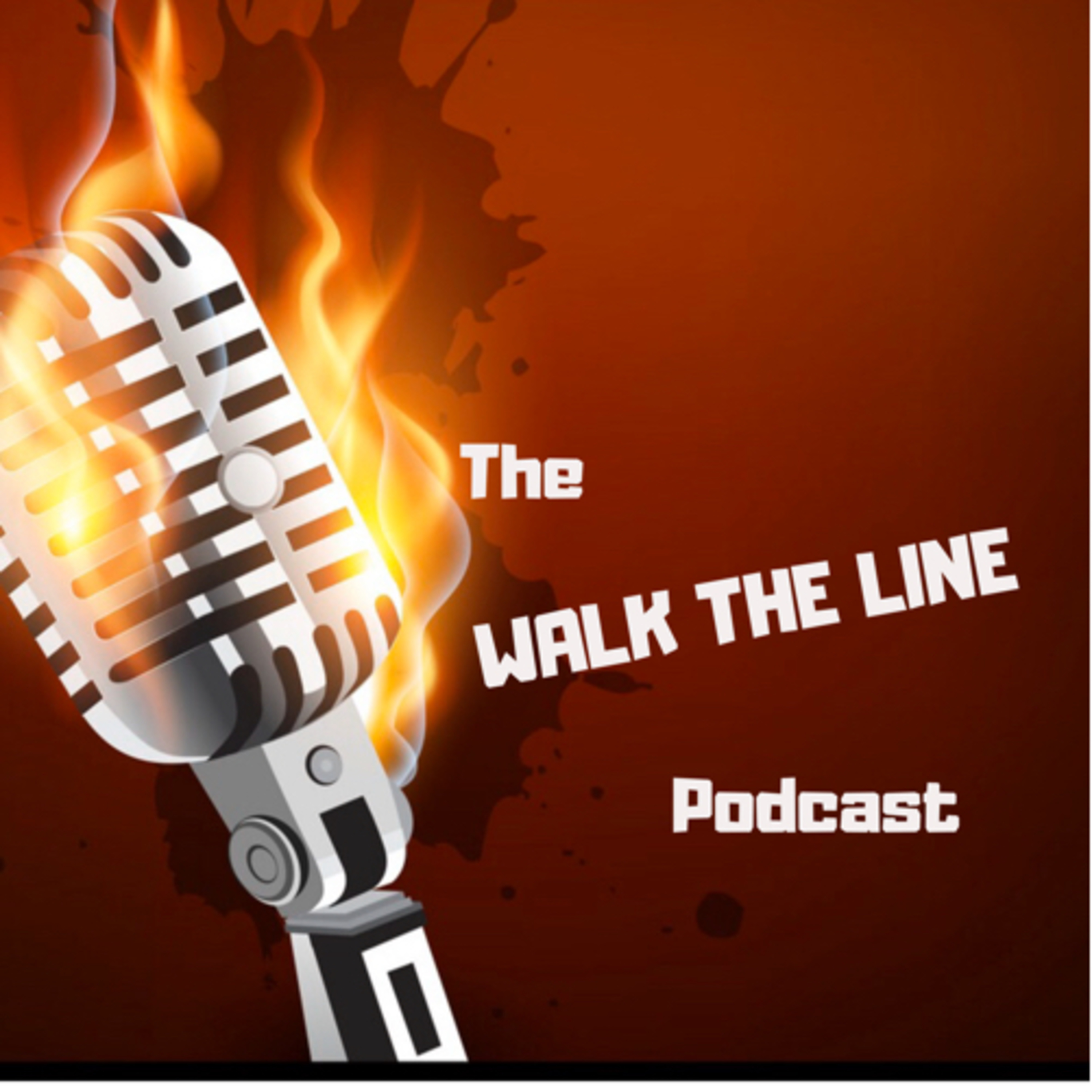 The Walk The Line Podcast show art