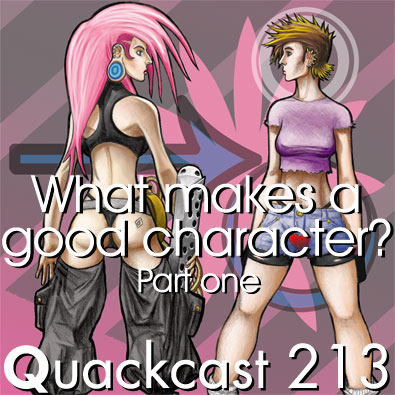Episode 213 - What makes a good character? Part one