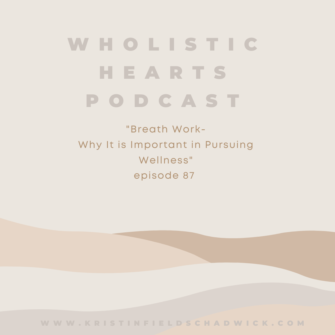 87. Breath Work: Why It is Important in Pursuing Wellness show art