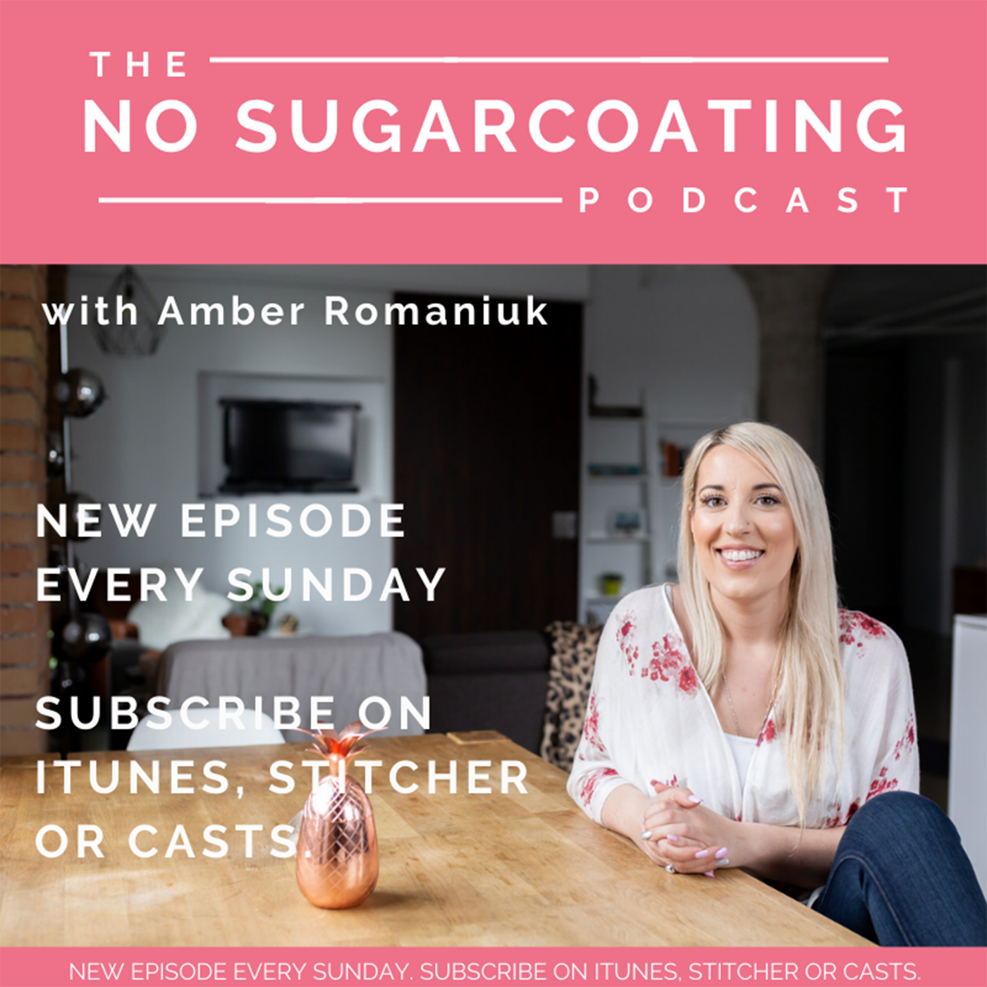 The No Sugarcoating Podcast show art