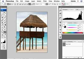 Adding shapes to your images in Photoshop