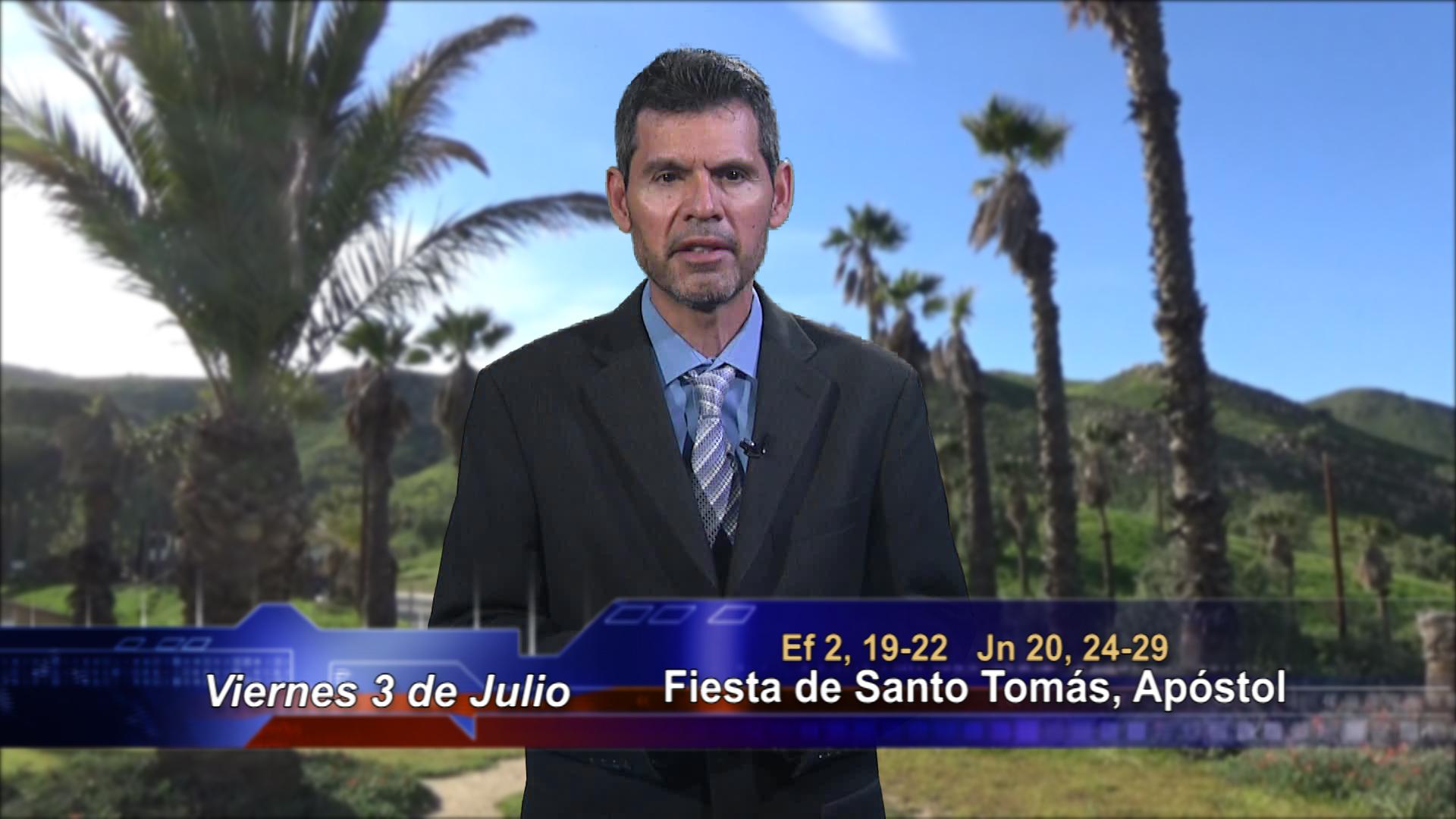 """Artwork for Dios te Habla con Jose Luis Elias; Tema de hoy: """"Señor mío y Dios mío"""""""