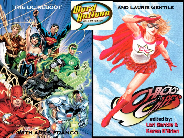 The DC Reboot With Art And Franco and Laurie Gentile On The Kankakee Fantasy Con