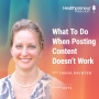 Artwork for 272 - What To Do When Posting Content Doesn't Work