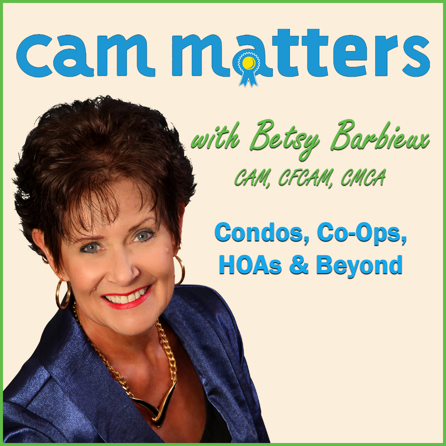 CAM Matters with Betsy Barbieux show art
