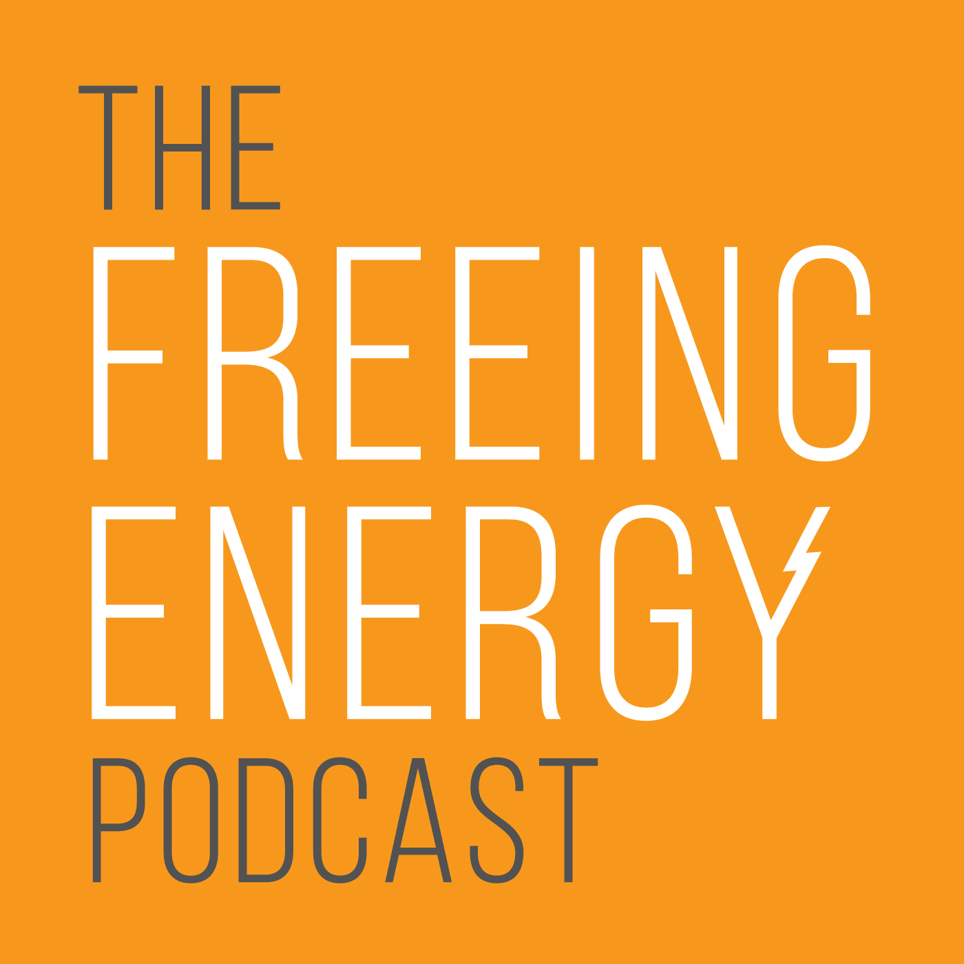 The Freeing Energy Podcast show art