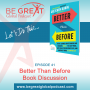 Artwork for BGG41 - Better Than Before By Gretchen Rubin Book Discussion