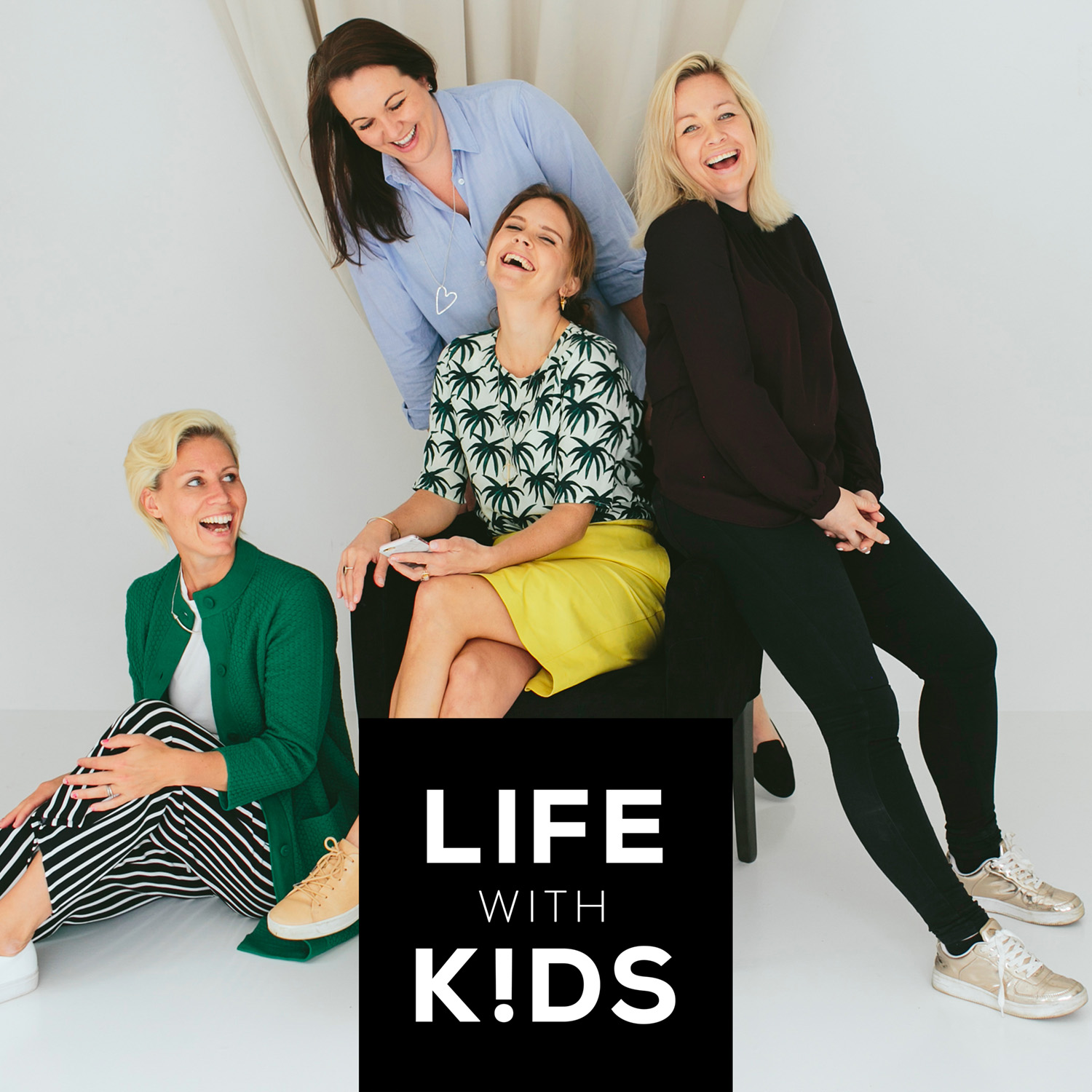 Life with kids show art