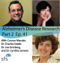 Artwork for Ep. 41: Alzheimer's Disease Research roundtable with Drs. Cynthia Lemere, Charles Glabe, and Lea T. Grinberg