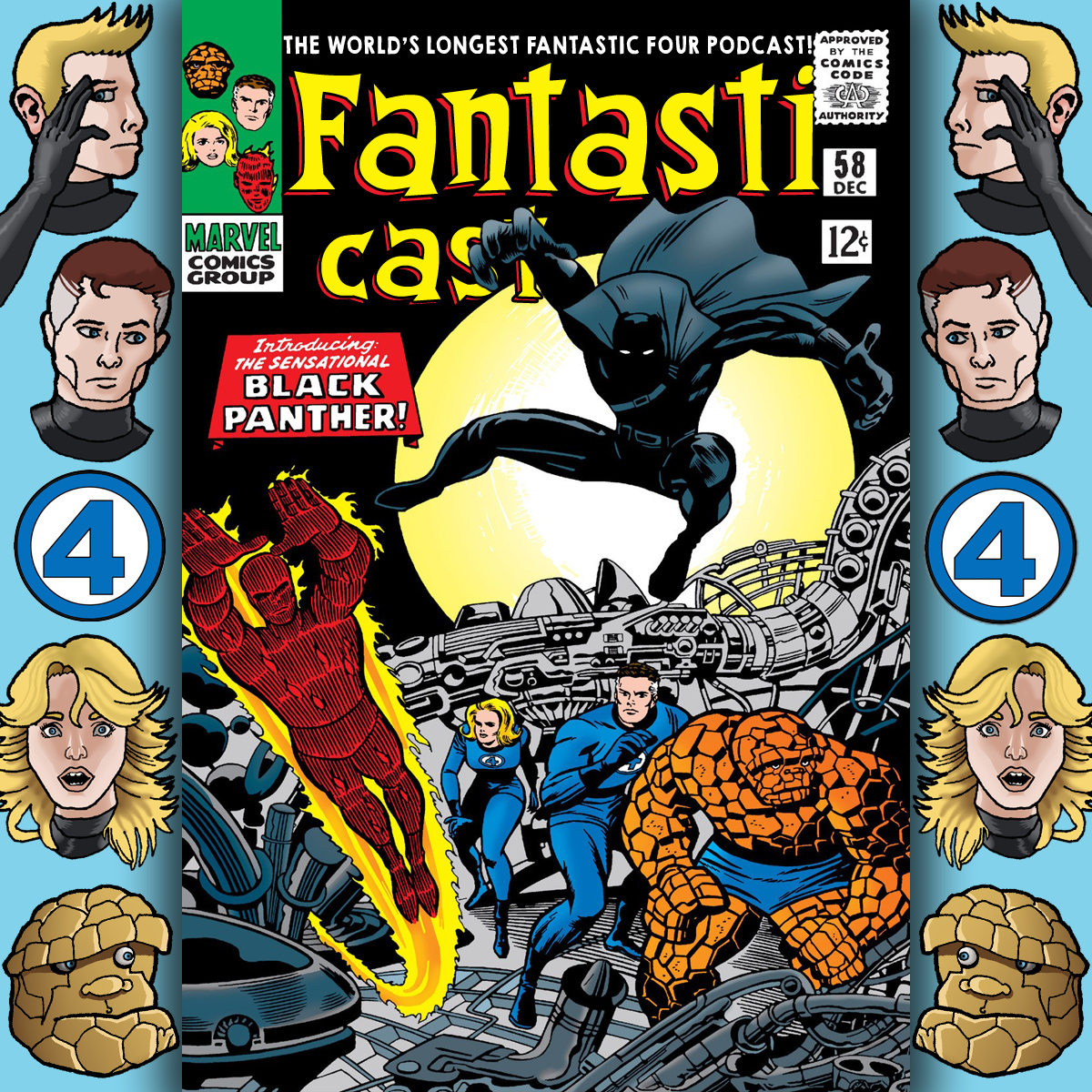 Episode 58: Fantastic Four #52 -  Introducing The Sensational Black Panther