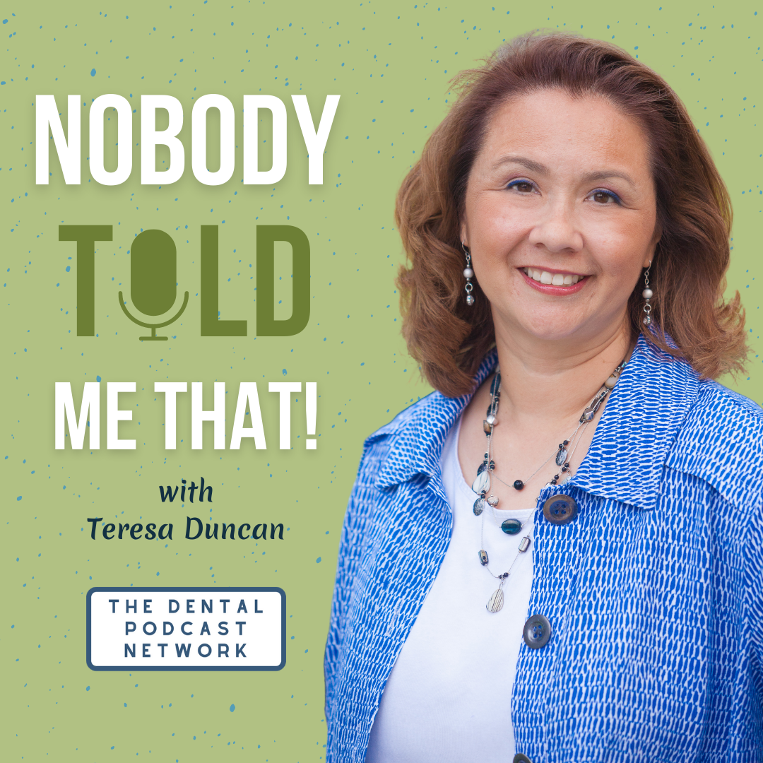 Nobody Told Me That! with Teresa Duncan show art