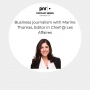 Artwork for Business journalism with Marine Thomas, Editor in Chief @ Les Affaires