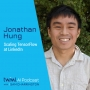 Artwork for Scaling TensorFlow at LinkedIn with Jonathan Hung - #314