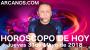 Artwork for HOROSCOPO DE HOY ARCANOS Jueves 31 de Mayo de 2018