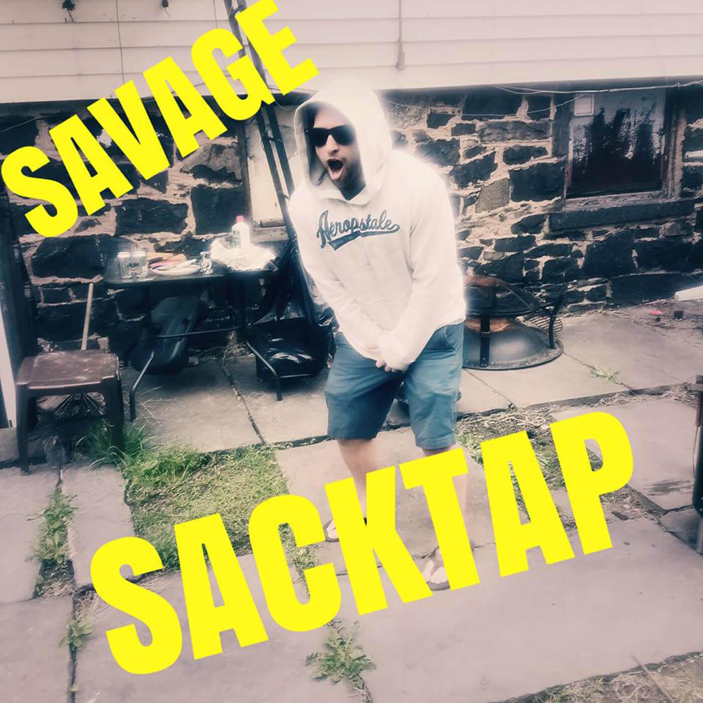 The Savage Sacktap show art