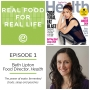 Artwork for Episode 1: Beth Lipton, Food Director, Health Magazine