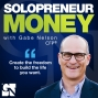 Artwork for Tips on Relationships and Money for Solopreneurs with Megan Spawn, Ep # 14