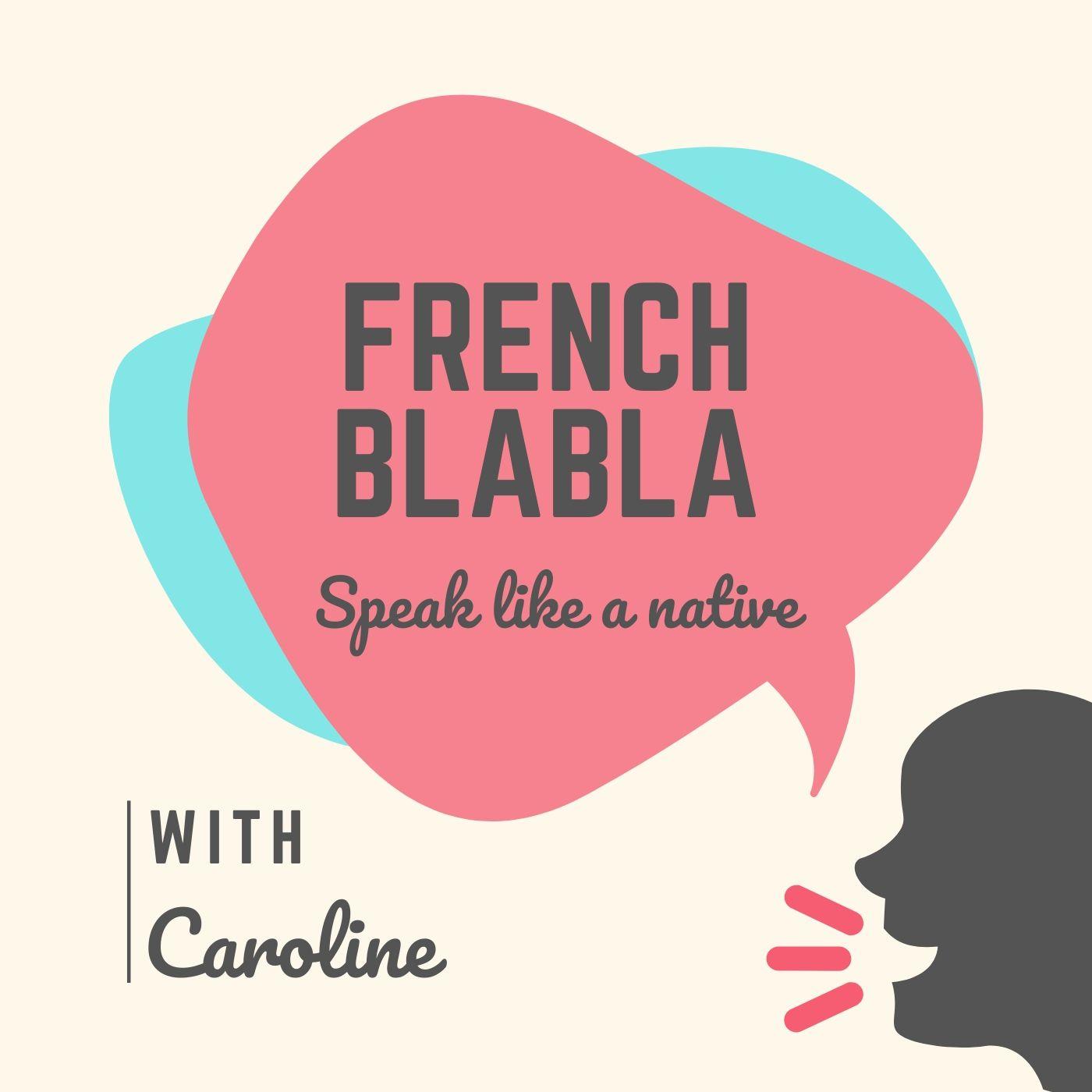 French Blabla show art