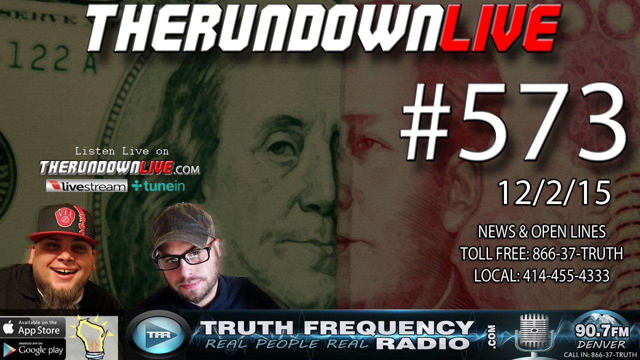 The Rundown Live #573 (San Bernardino Terror, Trump on Jones)