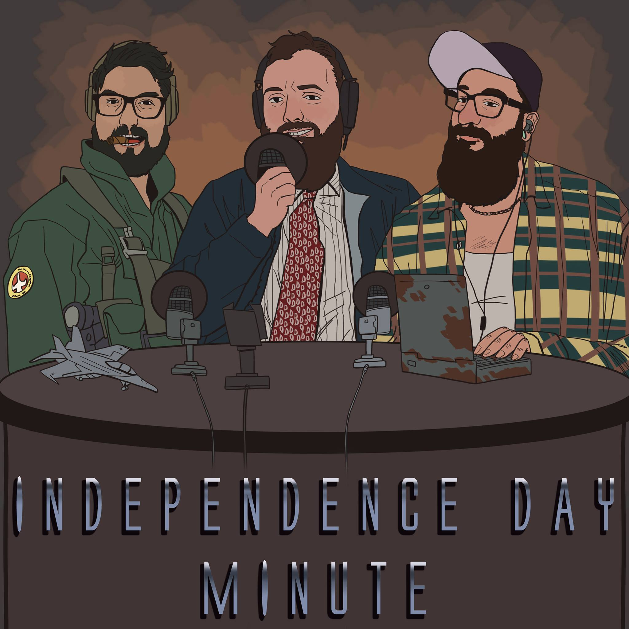 Independence Day Minute show art