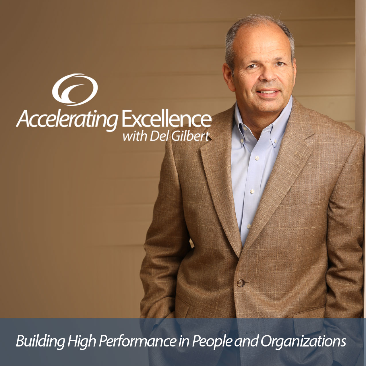 Accelerating Excellence with Del Gilbert show art