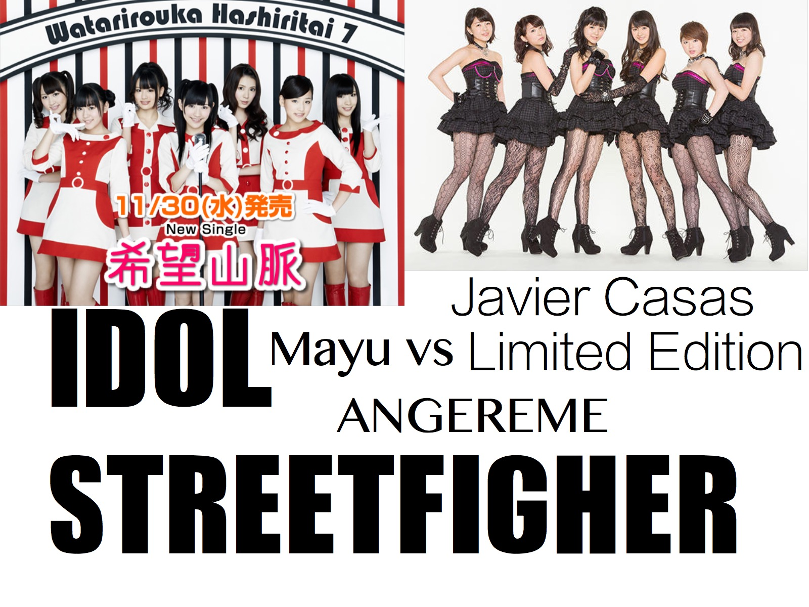 Streetfighter ANGEREME aka S/mileage vs. Watanabe Mayu AKB48 JPOP KPOP Watarirouka Hashiritai 7 - Special Part 1
