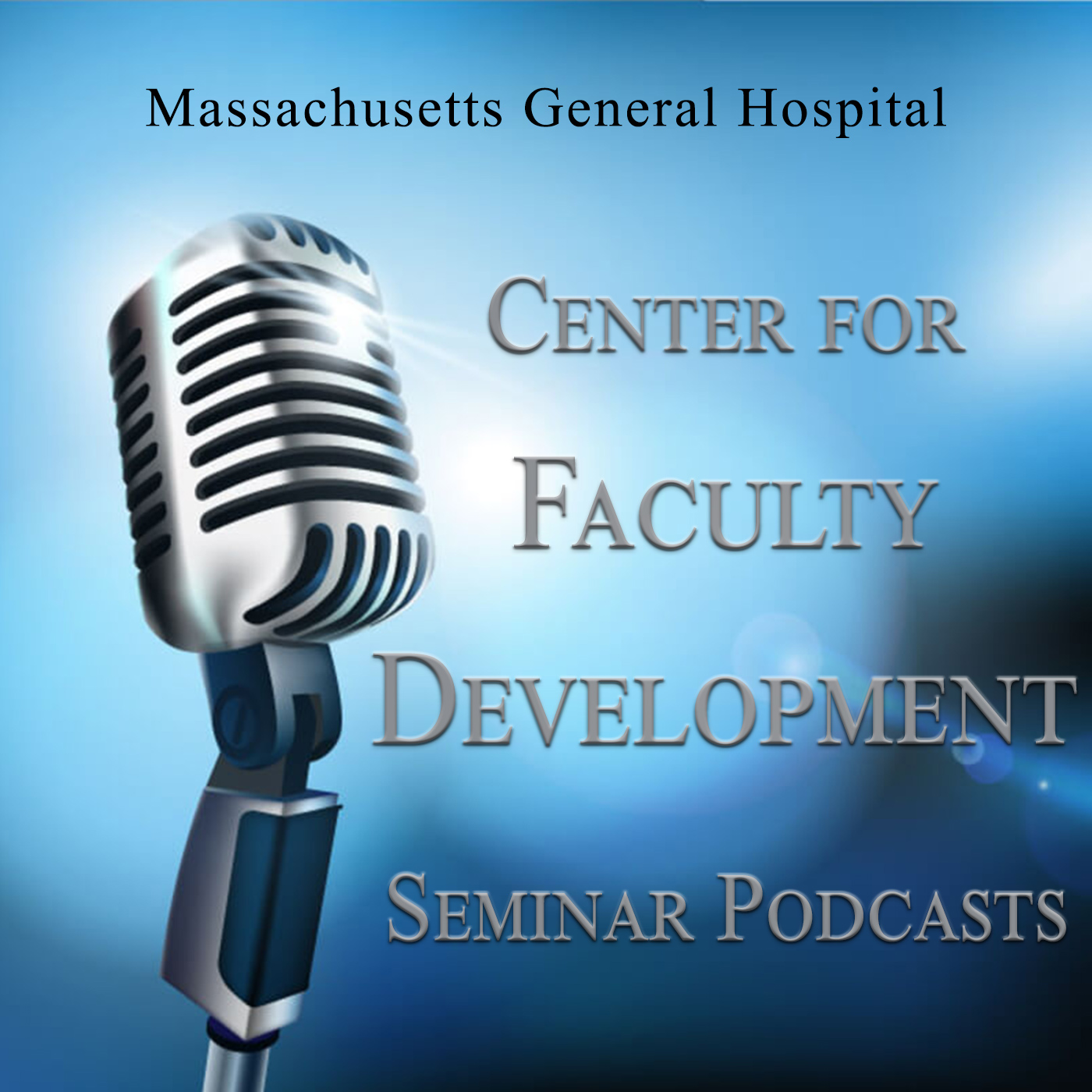 MGH Faculty Development Podcast show art