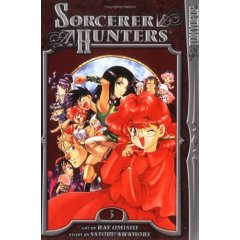 Manga Review: Sorcerer Hunters Volume 3 by Ray Omishi and Satoru Akahori