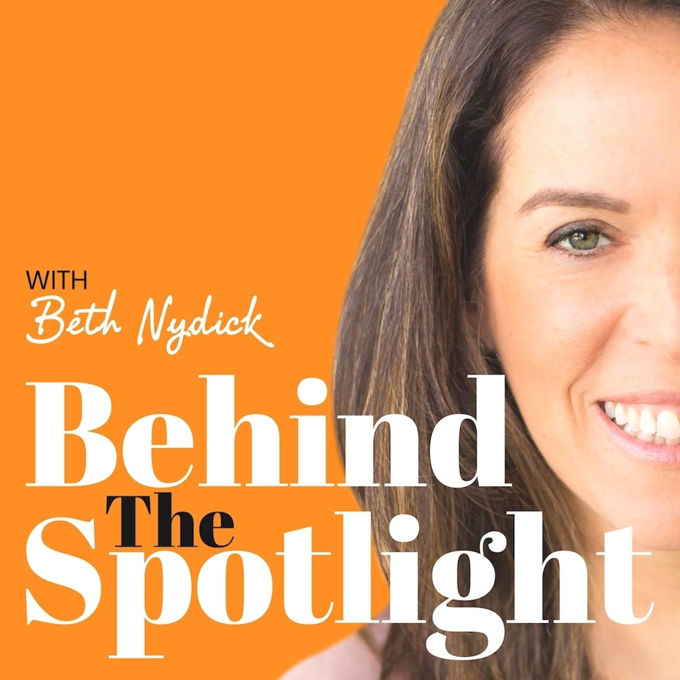 Behind The Spotlight show art