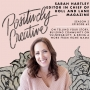 Artwork for 063 - Sarah Hartley, Editor in Chief of Holl and Lane Magazine on Telling Your Story, Building Community on Vulnerability, & Being a Work from Home Mama