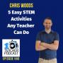 Artwork for 5 Easy STEM Activities any Teacher Can Do