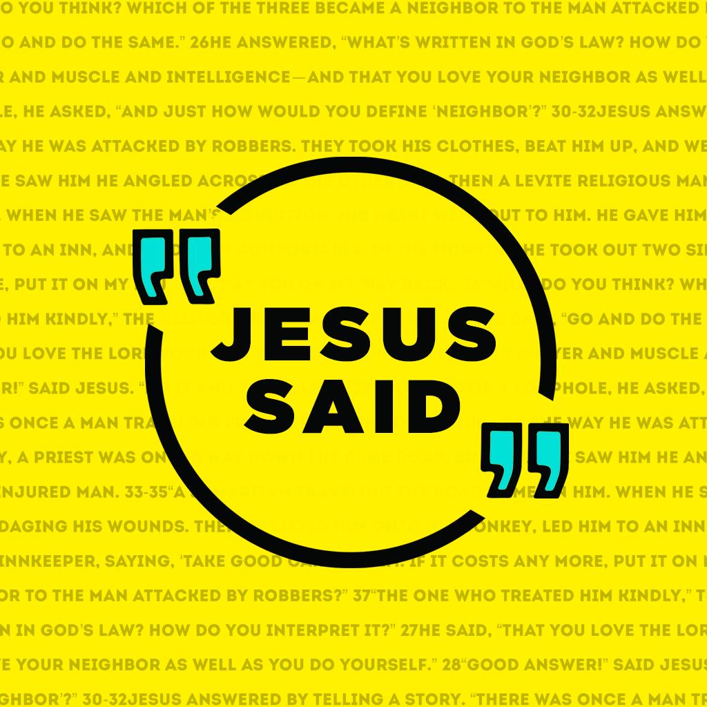 Jesus Said: Part 4 - Pastor Ron Lewis show art