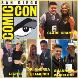 Comic News Insider: Episode 784 - SDCC Recap: Clare Kramer/Lights