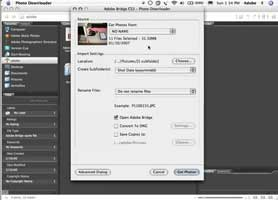 Use the New Camera Importer in Bridge CS3