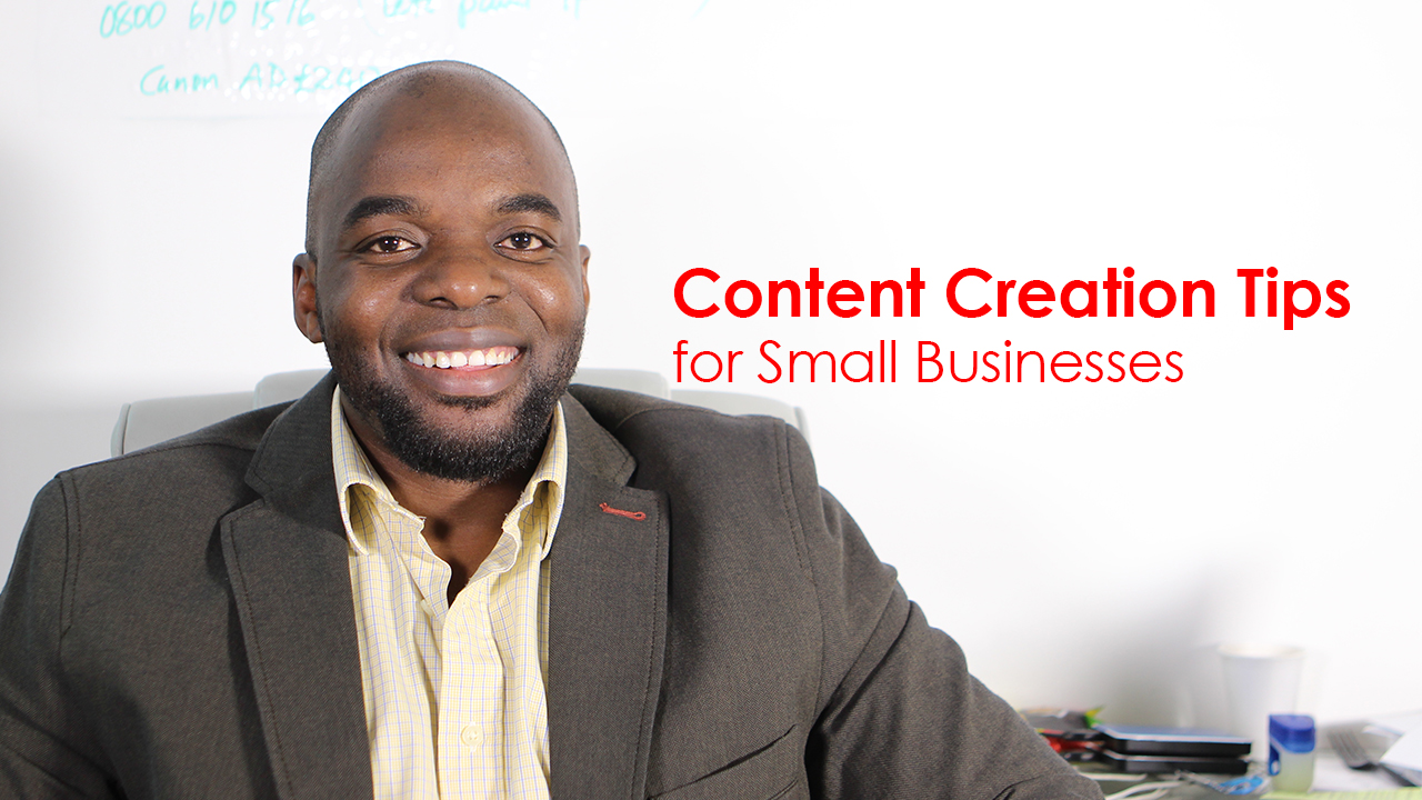 Content creation tips for small businesses