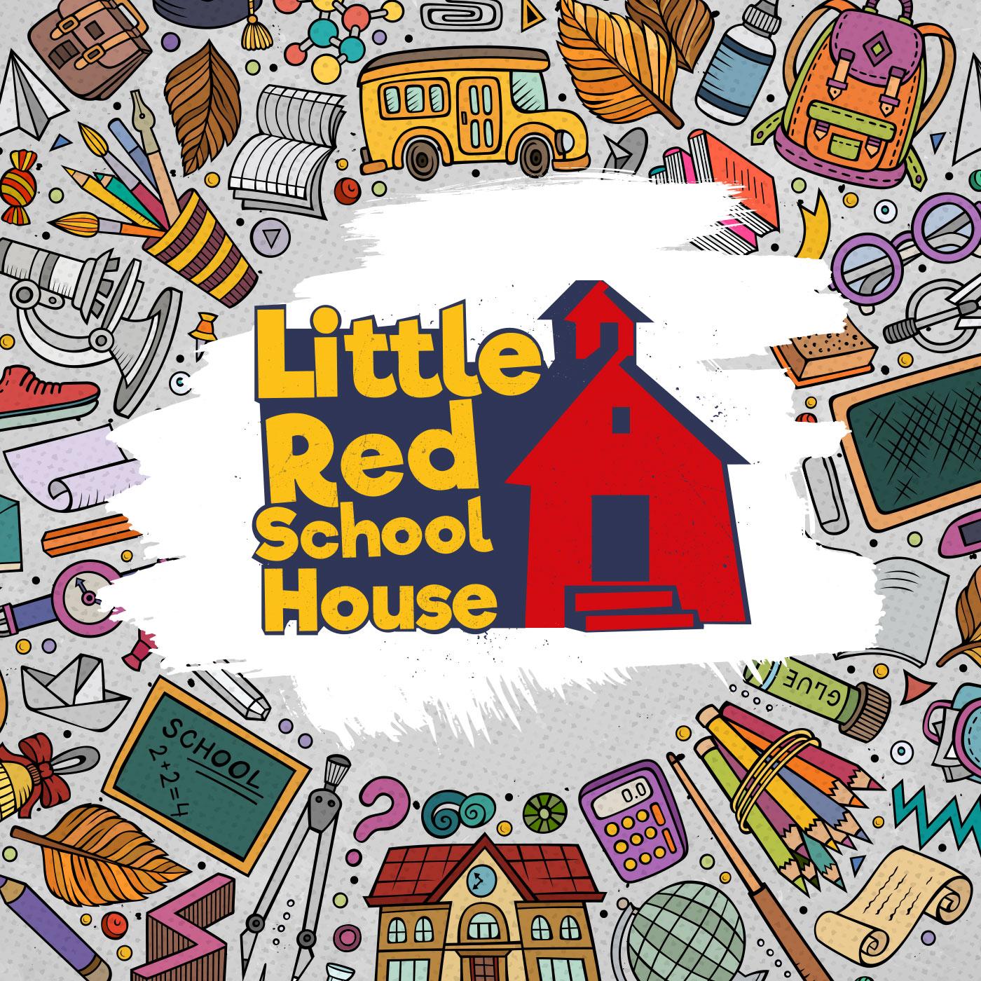Little Red School House show art