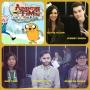 Artwork for Episode 649 - NYCC: Adventure Time w/ Jeremy Shada/Olivia Olson/Niki Yang/Ep Adam Muto/Rebecca Sugar!