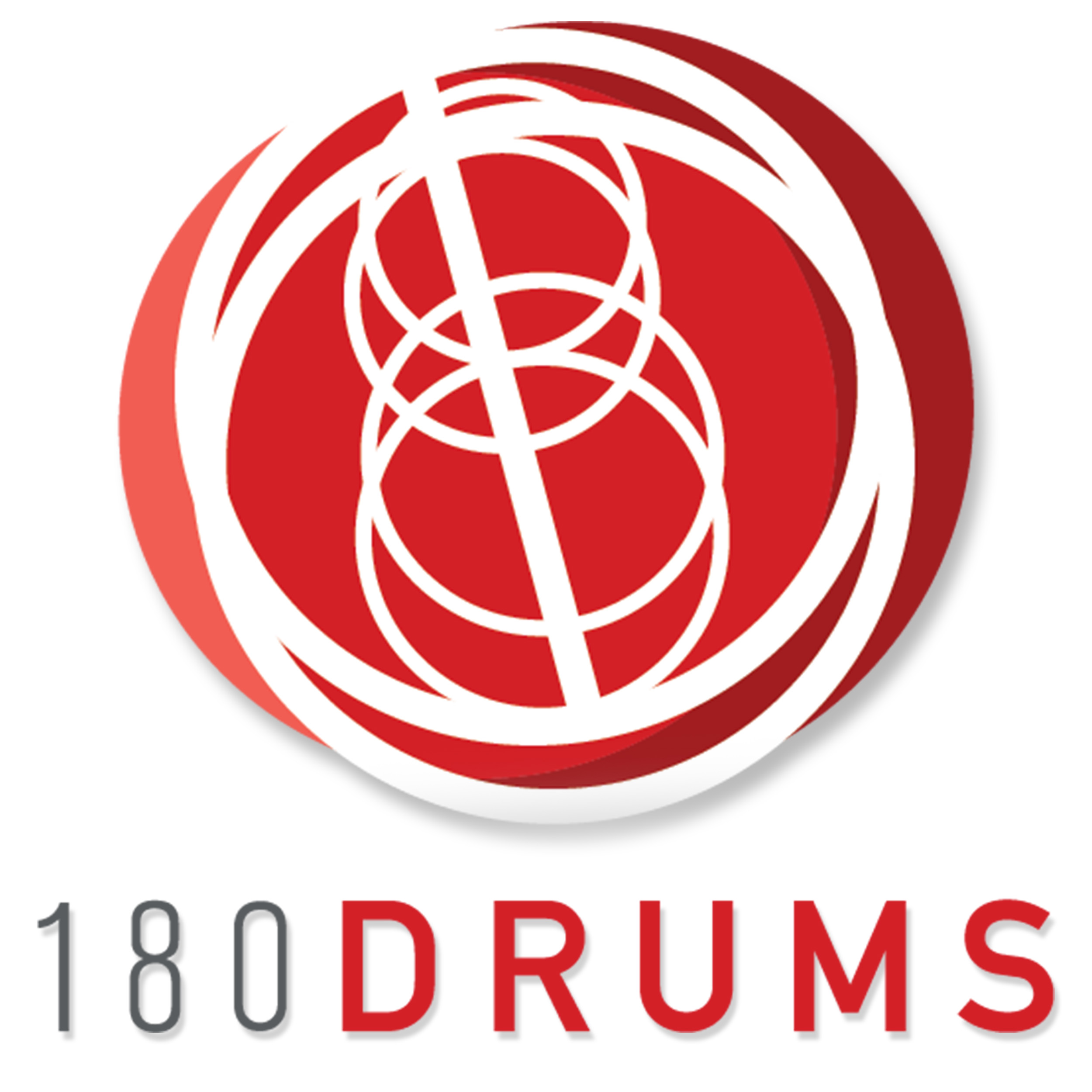 The 180 Drums Podcast show art