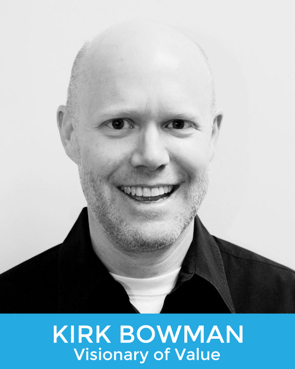 Kirk Bowman, Host and Producer of The Art of Value Podcast