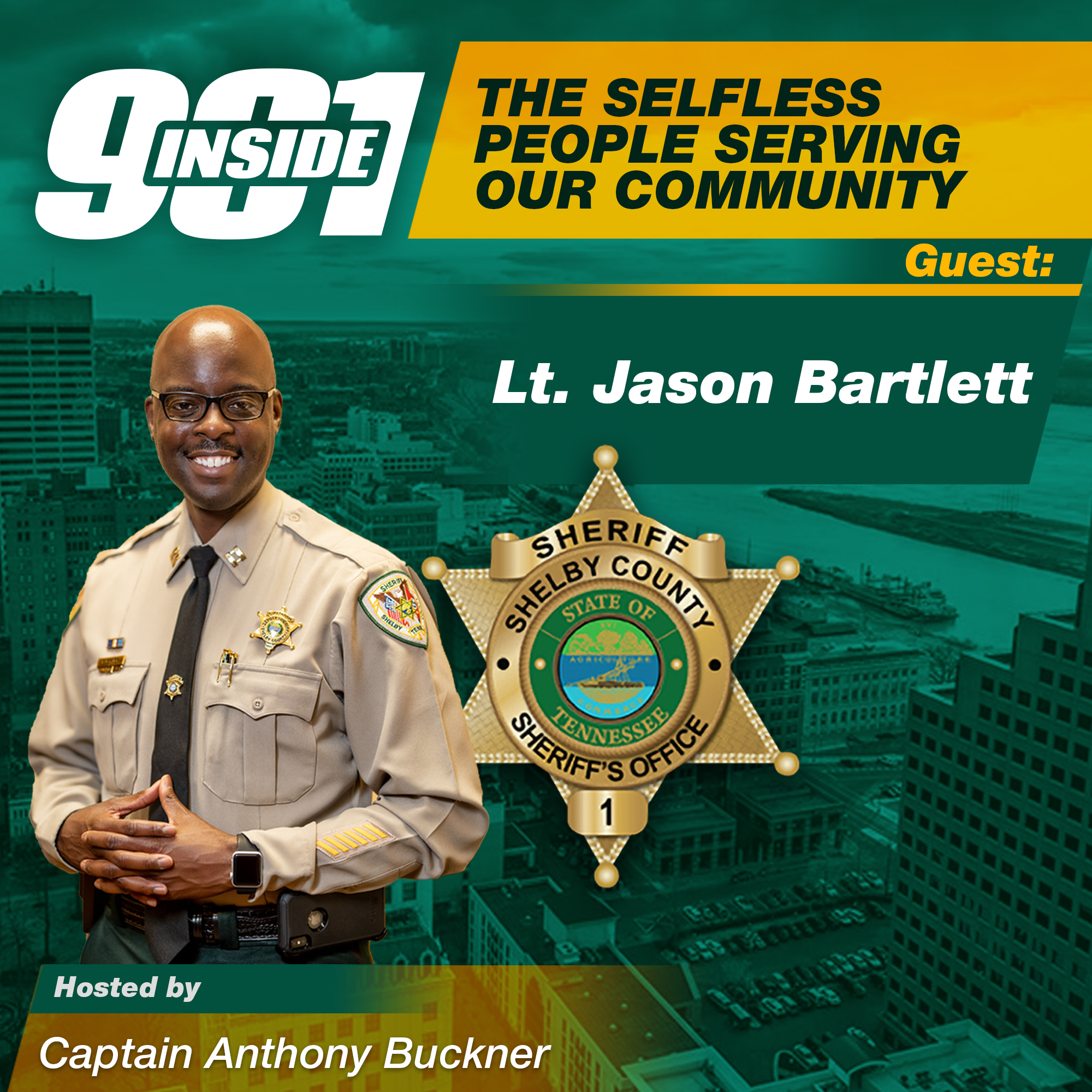 The Selfless People Serving Our Community w/Director Jason Bartlett l Inside 901 Podcast l KUDZUKIAN