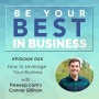 Artwork for EP025 - How to Leverage Your Business with Freeeup and Connor Gillivan