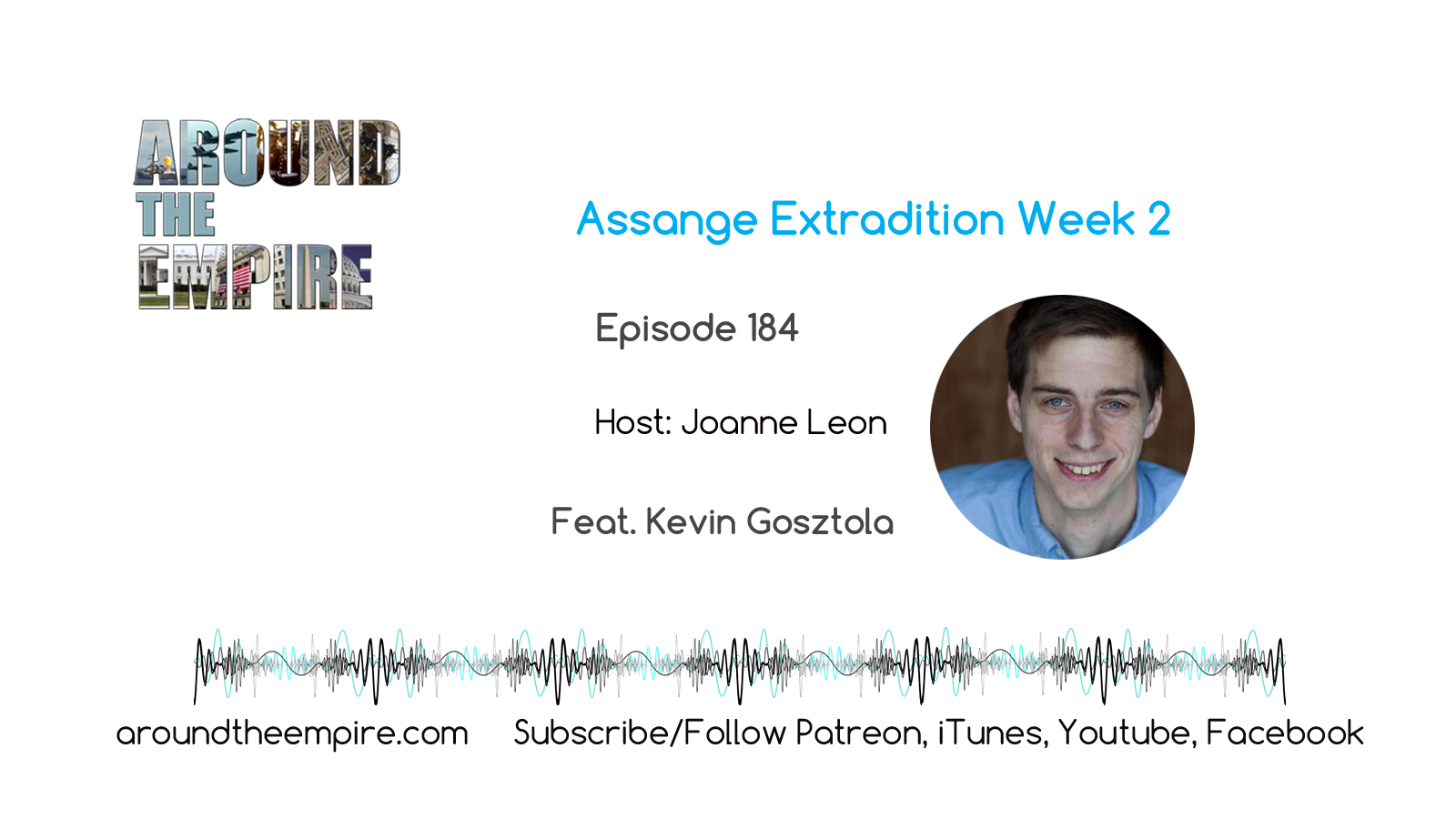 Ep 184 Assange Extradition Week 2 feat Kevin Gosztola