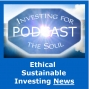 Artwork for PODCAST: Climate Change Investing, S&P ESG Product, Disruptive Wind Power Tech.