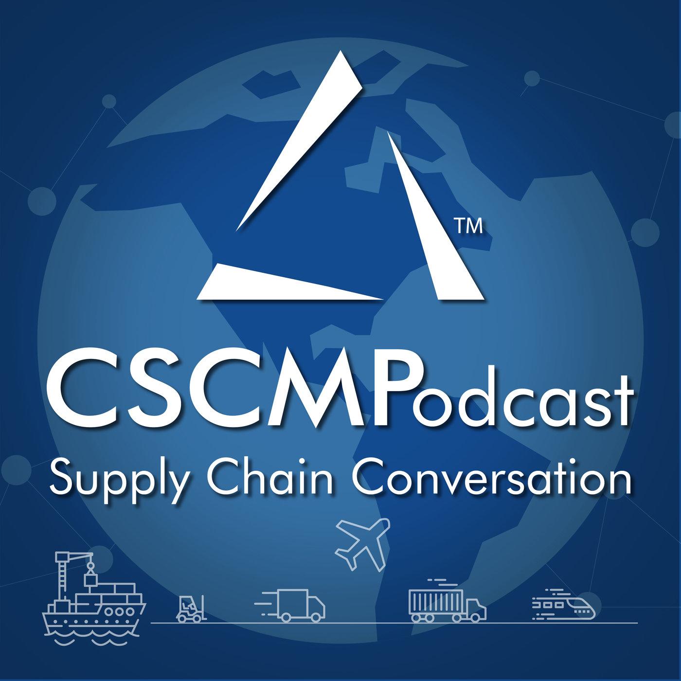 CSCMPodcast: Supply Chain Conversation - CSCMP show art