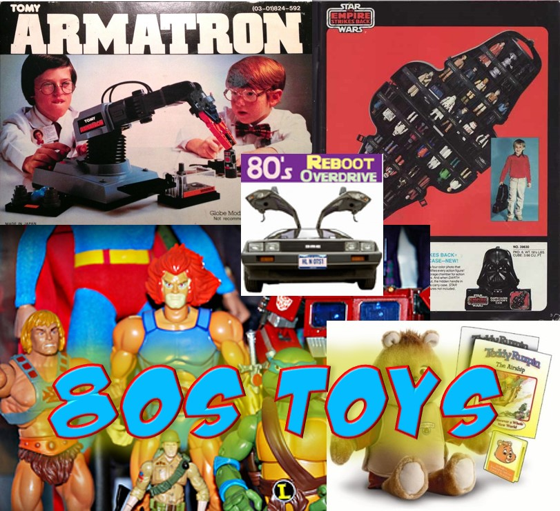 Awesome toys from the 80's - 80's Reboot Overdrive