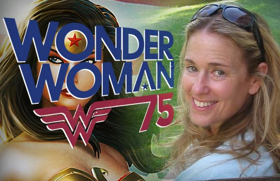 Susan Eisenberg returns for Wonder Woman's 75th Anniversary