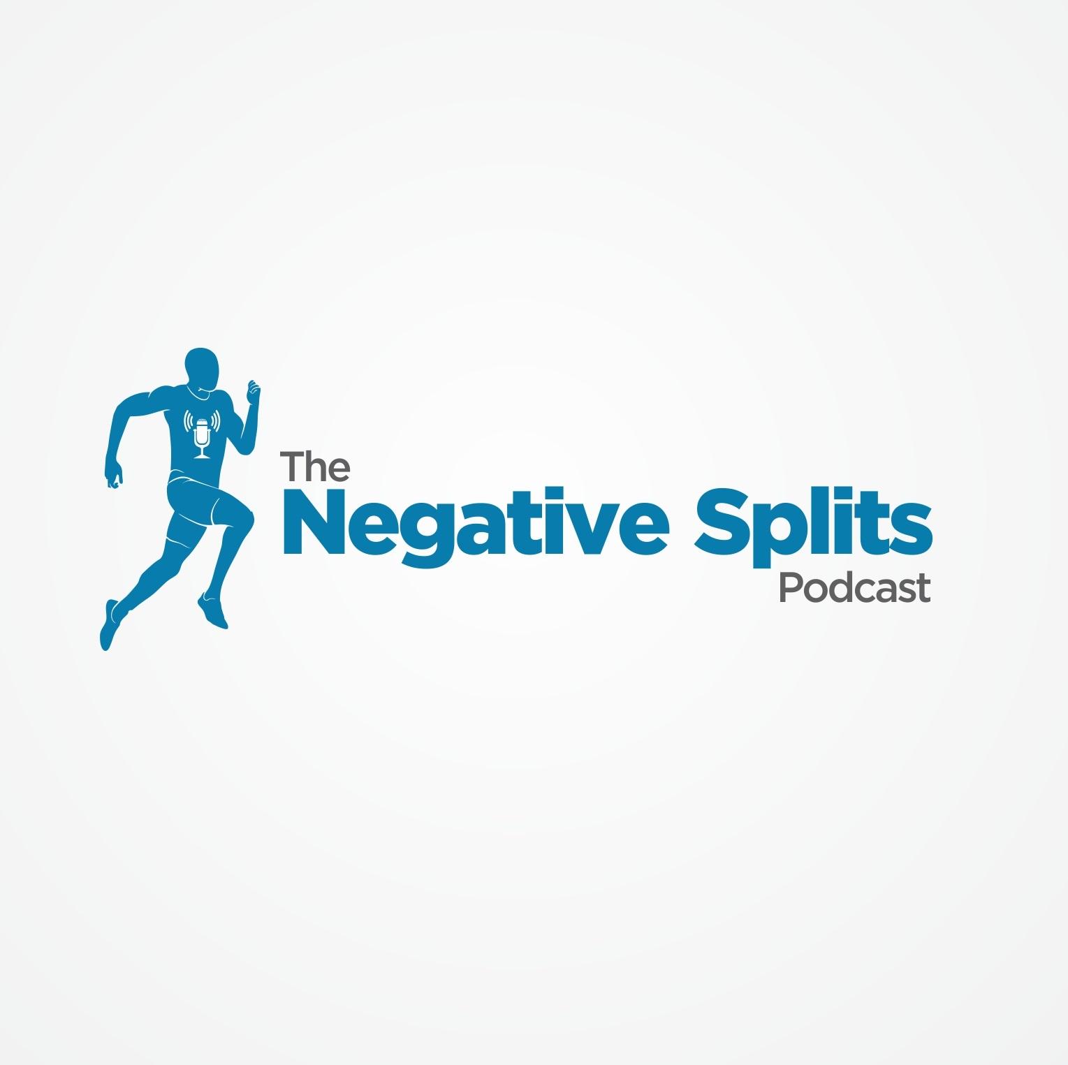 The Negative Splits Podcast logo