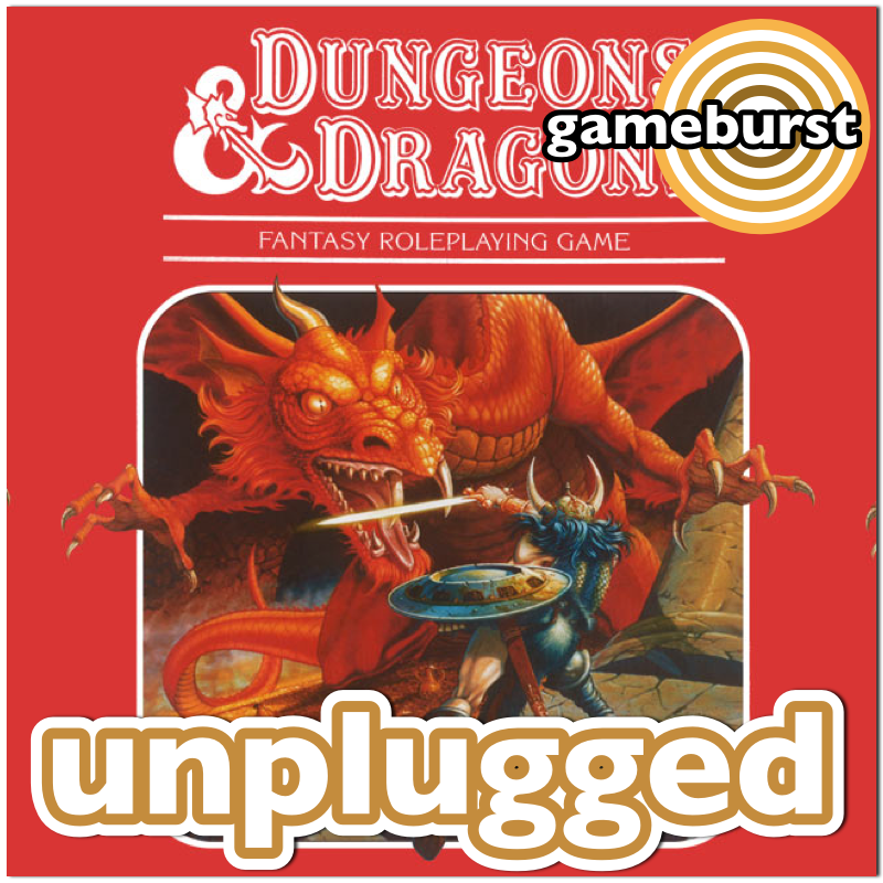 GameBurst Unplugged - Dungeons & Dragons
