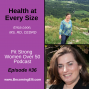 Artwork for Health at Every Size with Erica Leon