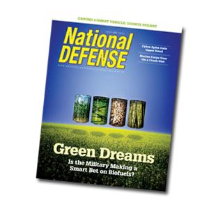 Artwork for Military's Effort to Go Green - January 2011